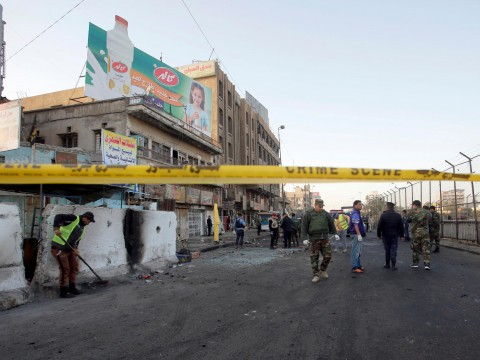 Suicide attacks in Baghdad kill at least 38