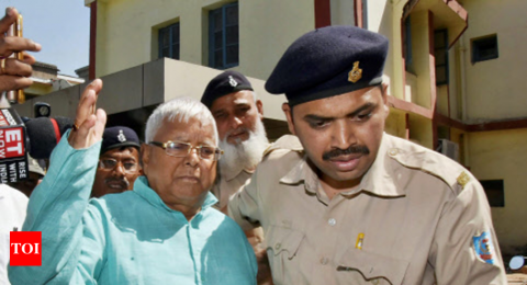 Lalu convicted, all other politicians acquitted in 4th fodder scam case