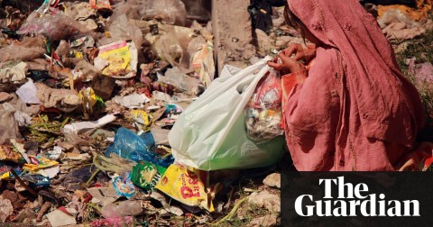 'I've never been to school': child waste pickers living on Pakistan's streets