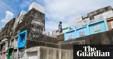 Graveyard living: inside the 'cemetery slums' of Manila