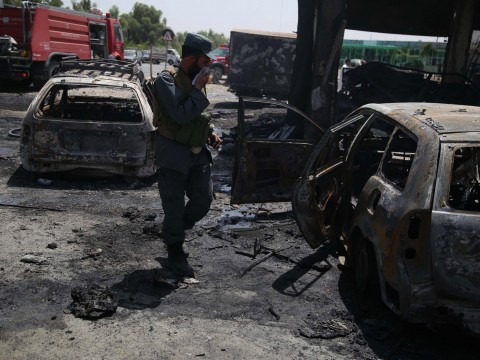 Afghanistan suicide bomb attack kills 12 people including children