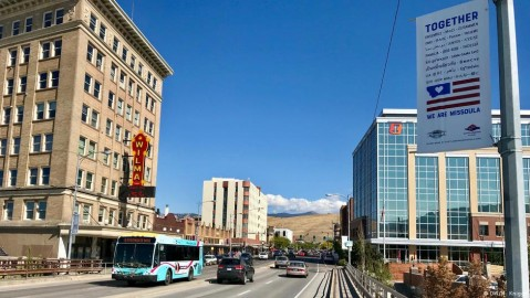 Downtown Helena, Montana. Photo: Mo. Knigge / Deutsche Welle